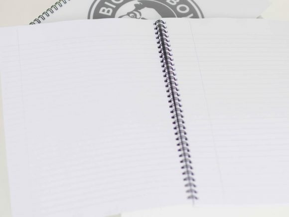 BIGGER BOY lined notepad